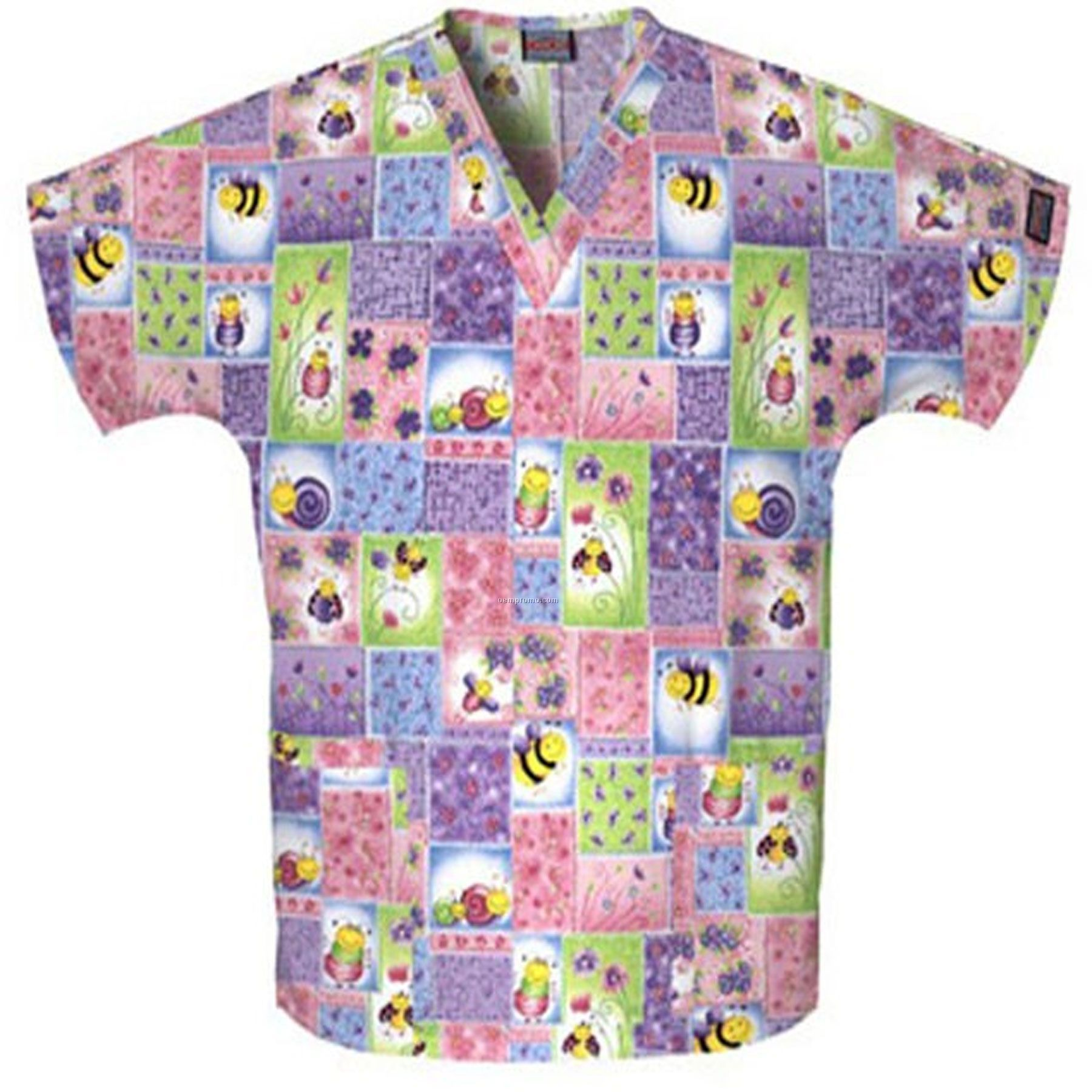 Unisex Two Pocket Top (Bee Yourself Print)