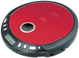 Compact Personal Cd Player W Hp Red China Wholesale