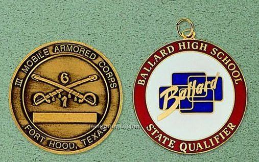 Custom Medal Or Coin - 2""
