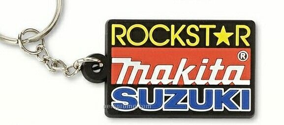 "Fun & Flexible Custom Pvc Key Chain (1 1/2"")"