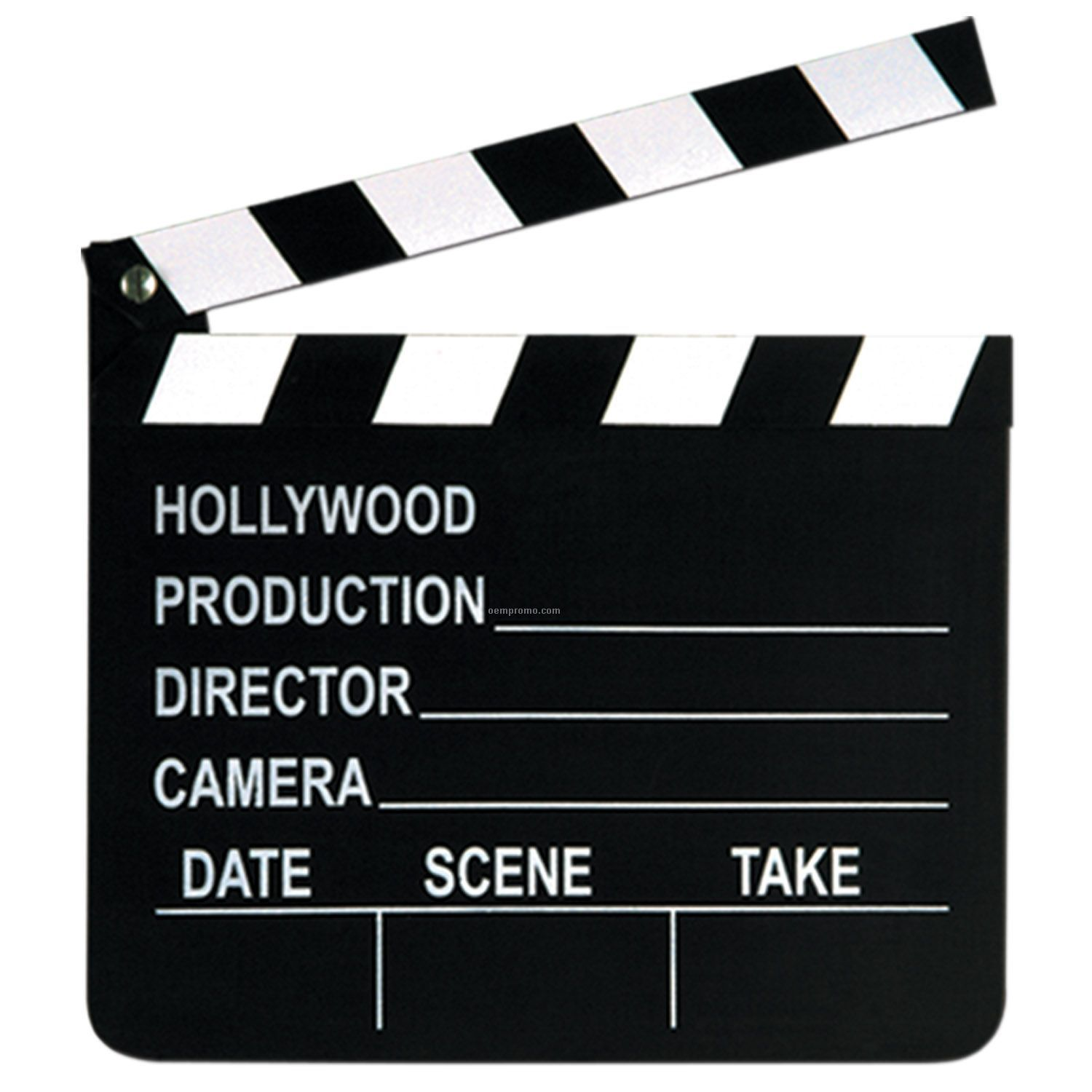 Movie Set Clapboard W/ Chalk