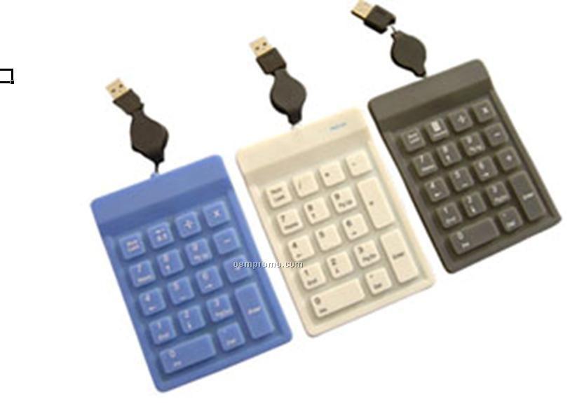 18-key Numeric Waterproof Keypad