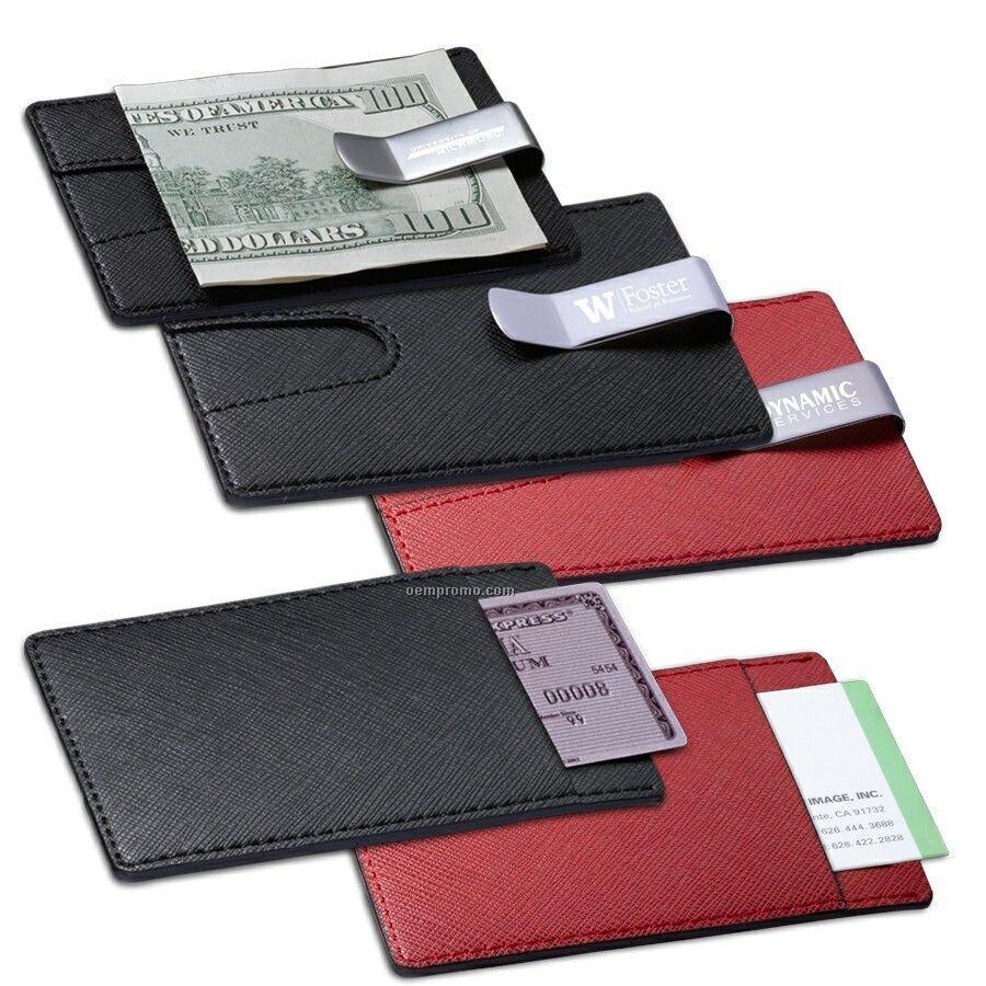 Credit Card Holder W/ Money Clip
