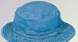 Kids Denim Aussie Hat