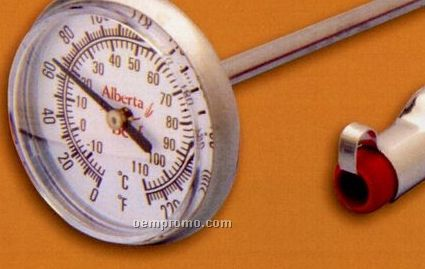 Durac II Dial Thermometer (0 To 220 Degree F, -10 To 110 Degree C)