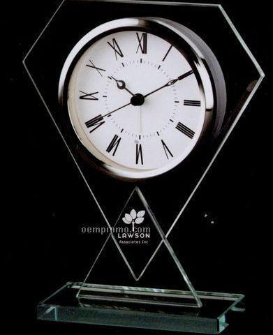 Diamond Glass Alarm Clock