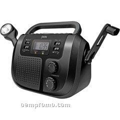 Jwin AM/FM/Wb/Digital Display Radio W/Alarm Clock