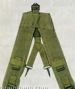 Olive Green Drab Gi Style Military Y Lc-1 Suspenders