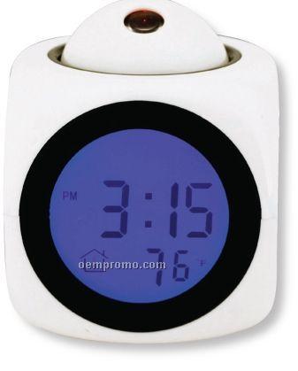 Projection Talking Alarm Clock