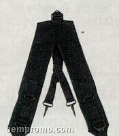 Black Gi Style Military Y Lc-1 Suspenders