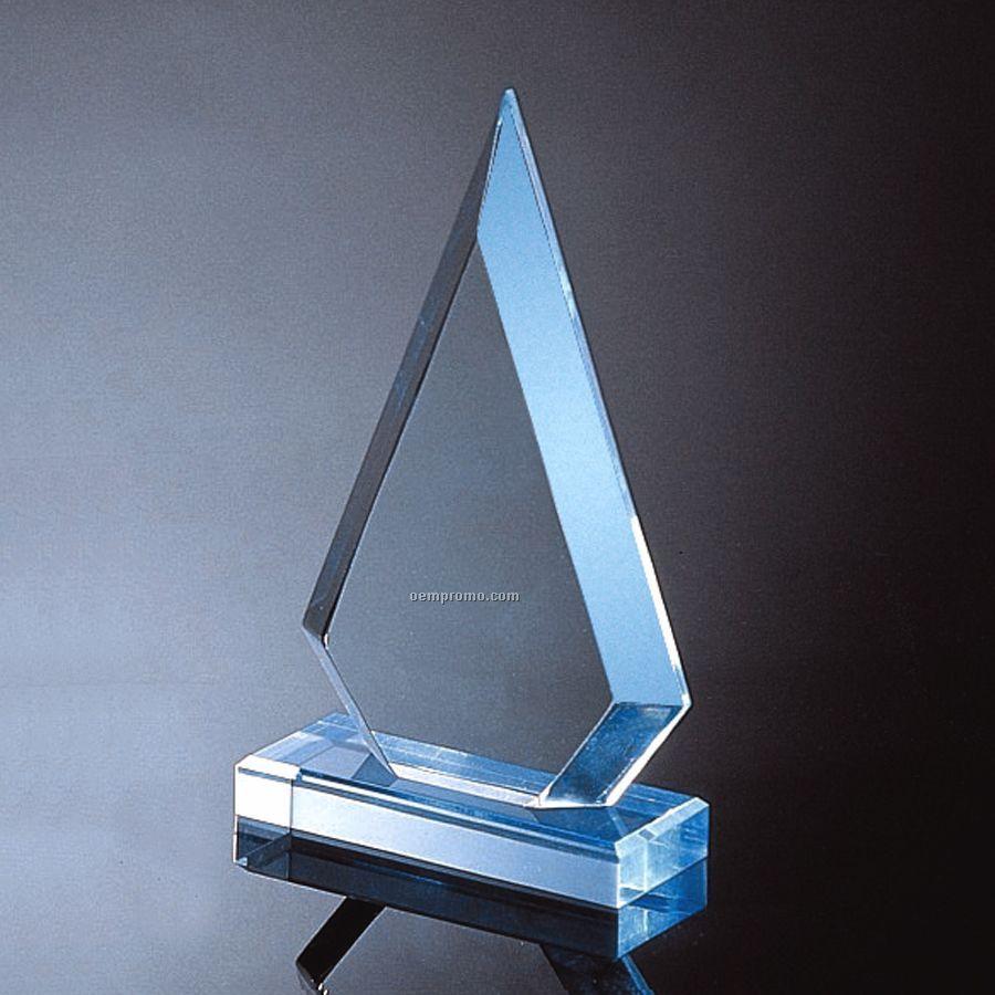 """Blue Arrowhead Award (8-3/4""""X5""""X2"""")"""