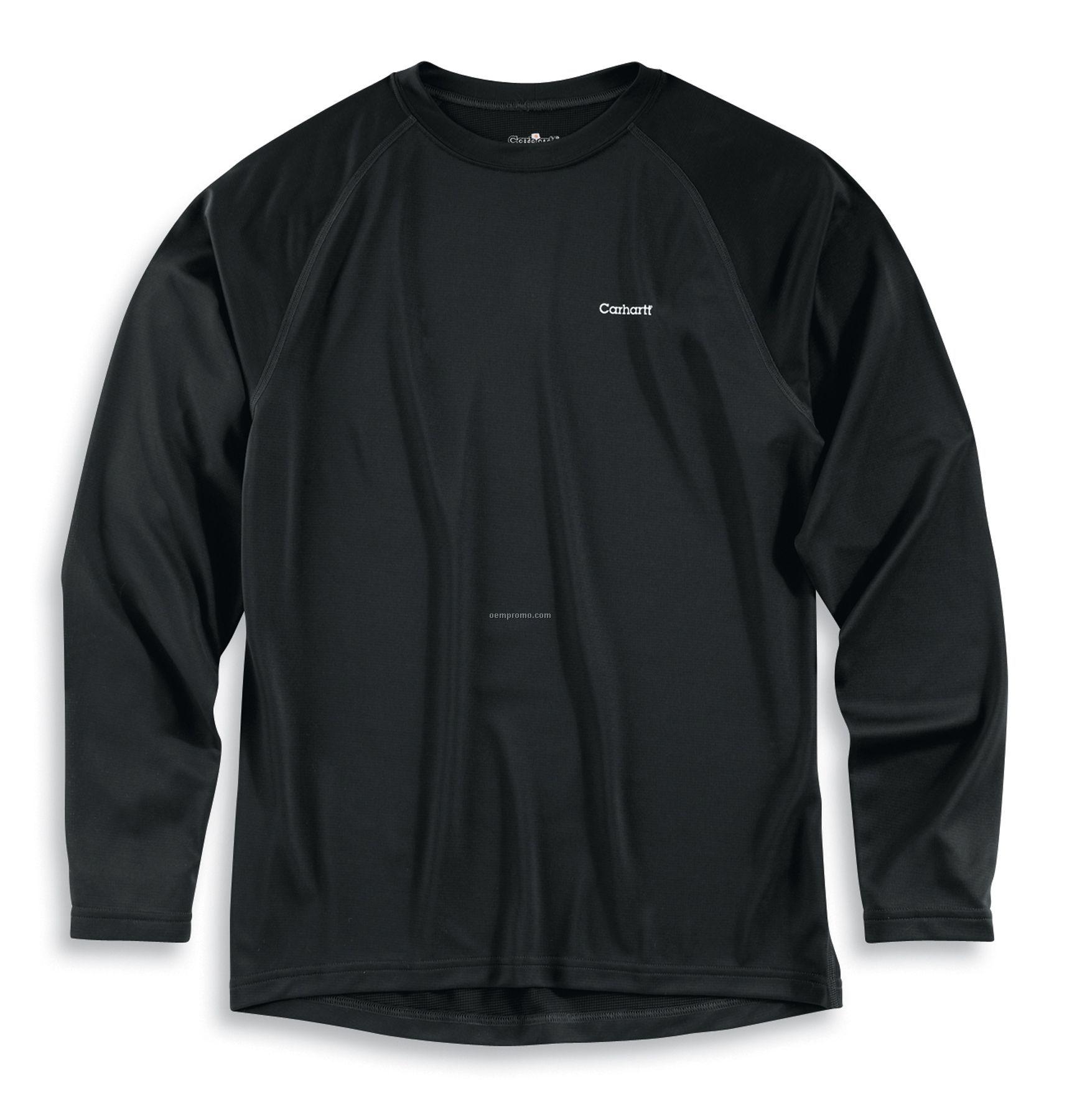 Carhartt Men's Lightweight Thermal Crewneck Shirt W/ Work Dry Base Layer