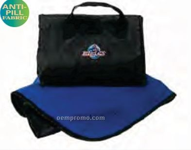 Packable Vantek Fleece Blanket