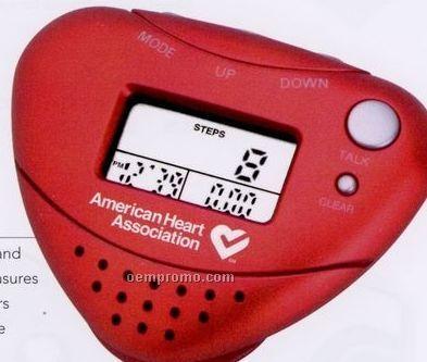 Talking Alarm Clock Pedometer