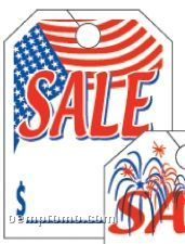 "V-t Special Event Mirror Hang Tag (Flag) 8 1/2""X11 1/2"""