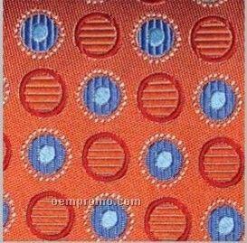 "Wolfmark Ellison Bay Silk Scarf - Orange (45""X8"")"