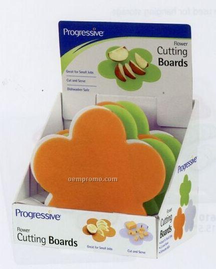 Flower Cutting Board Display