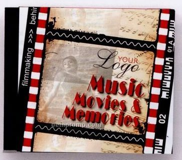 Music, Movies, & Memories Music CD