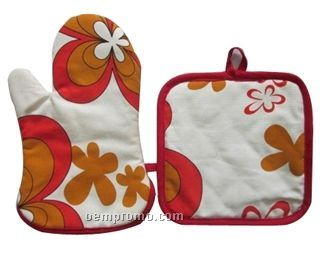 Oven Mitt And Pot Holder