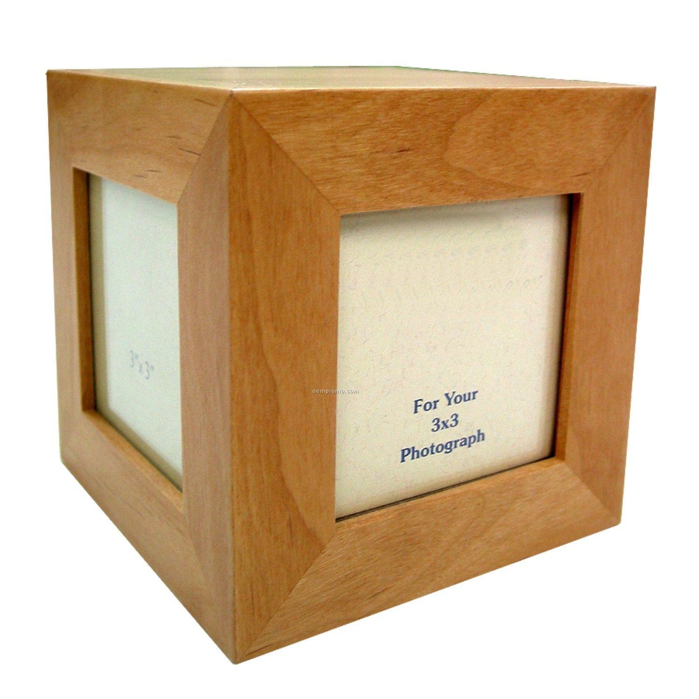 Wooden Cube Frame - Wooden Designs