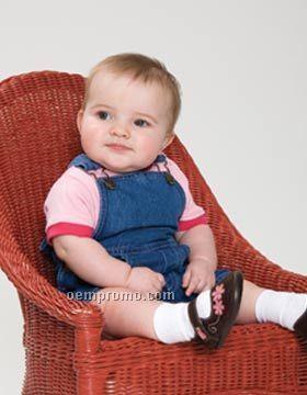 Enza Infant Denim Shortall (6m-24m)