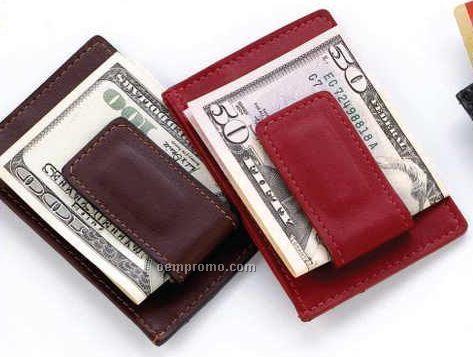 Magnetic Money Clip Credit Card Wallet