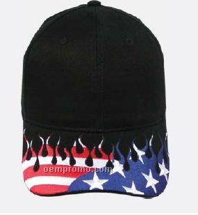 All American Flame Cap (Blank)