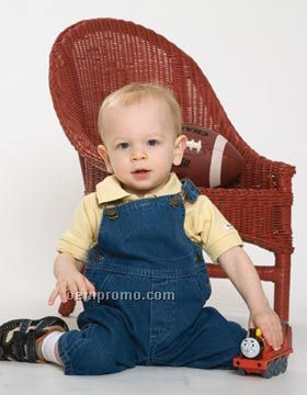Enza Infant Denim Overall (6m-24m)