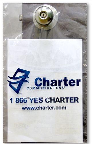 White Doorknob Bag 1 75 Mil Polyethylene 9 Quot X15 Quot China