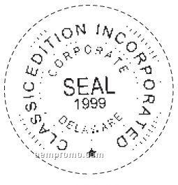Trodat Custom Round Self-inking Stamps (1 5/8