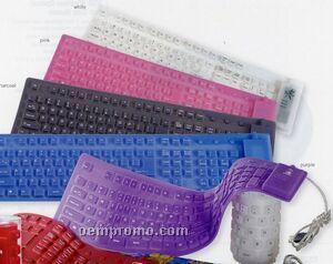V-line Silicone Keyboard
