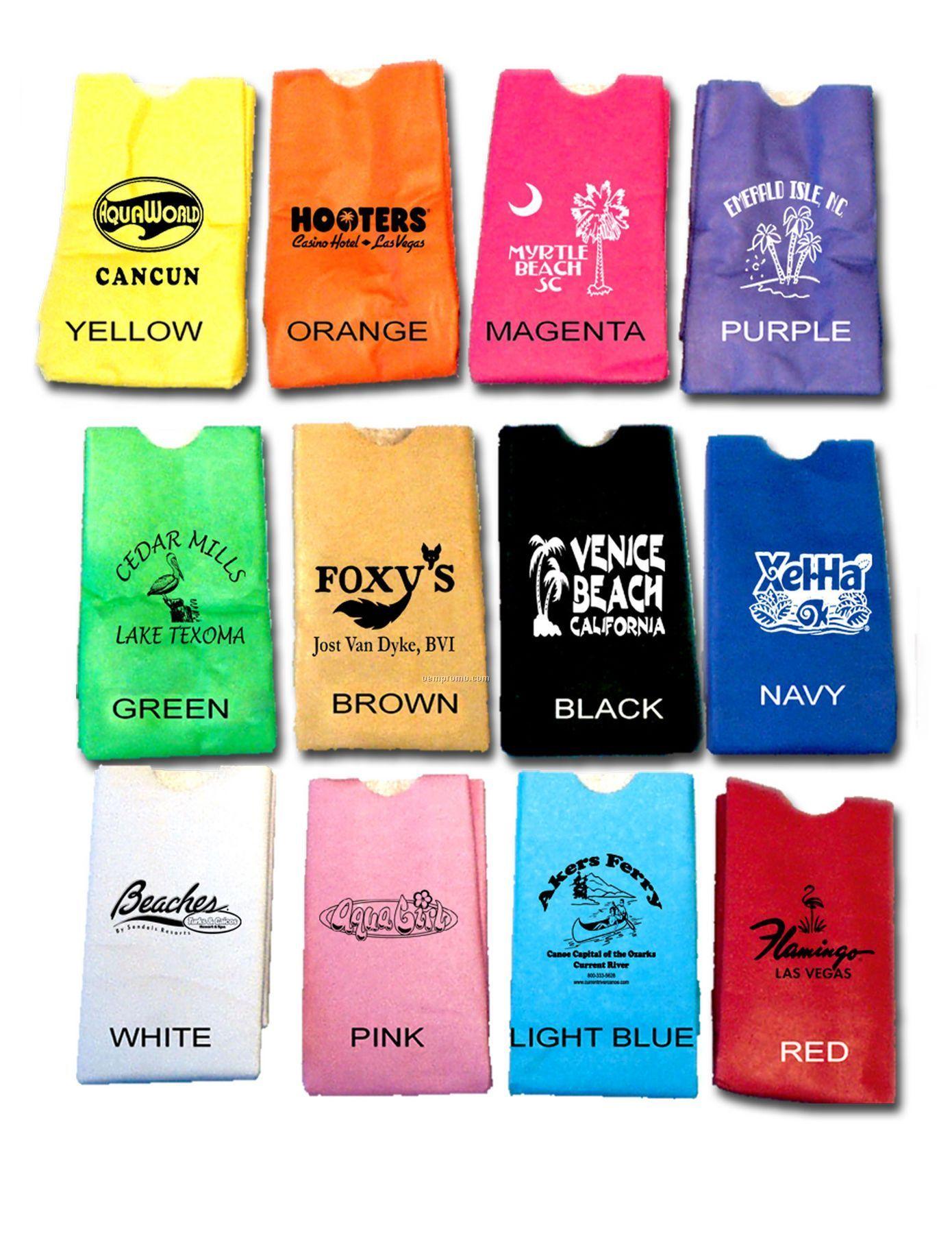 12 Oz Sip Sac Insulating Beverage Bag (Solid)