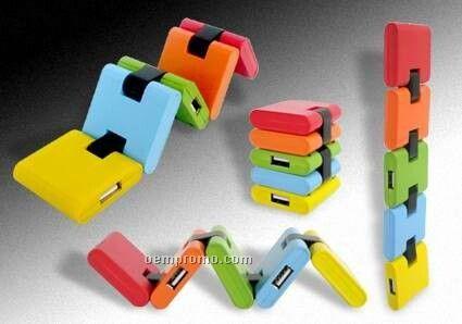 Colorful USB Hub (Square)