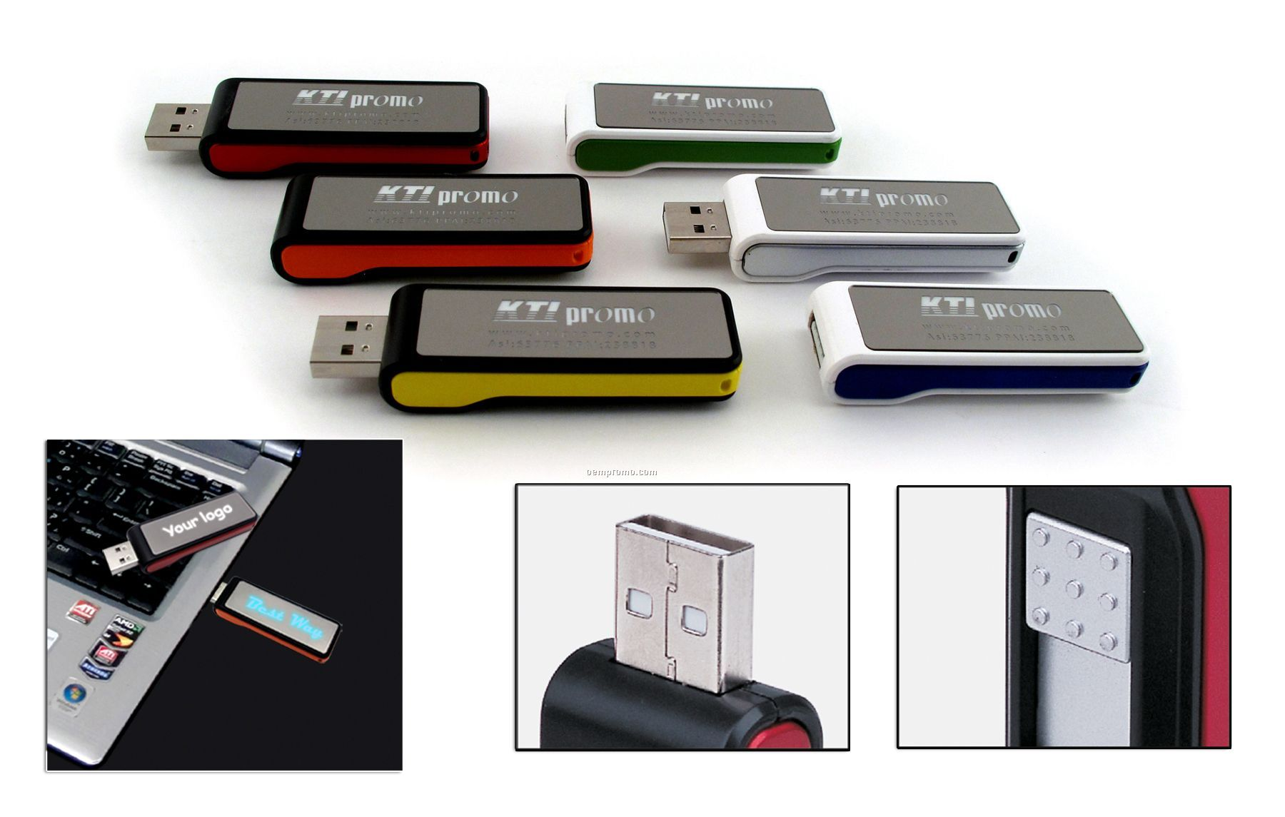 1gb LED USB Drive 600 Series