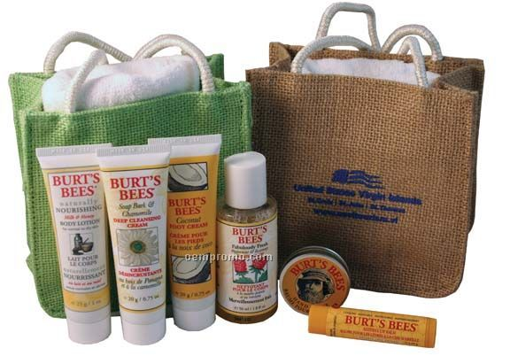 Burt's Bees The Everything Kit - Jute With Towel