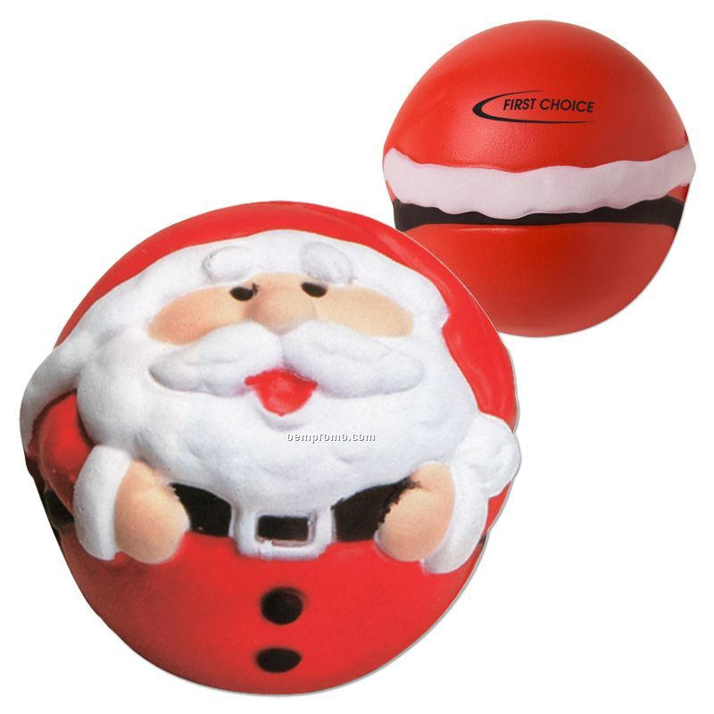 Santa Squeeze Toy