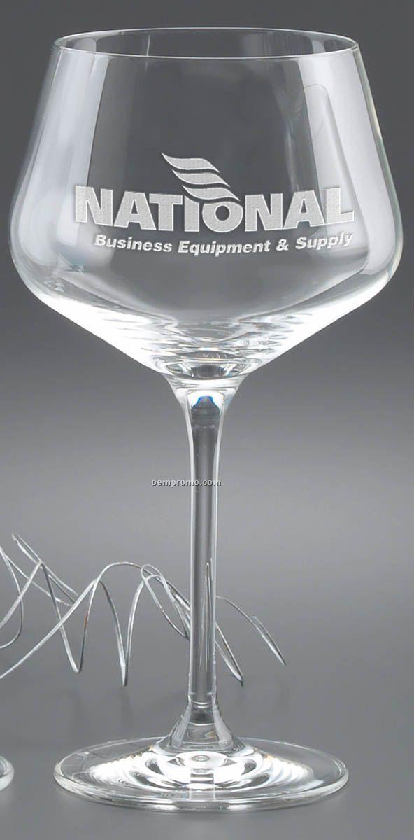 23 Oz. Rona Burgundy Glass