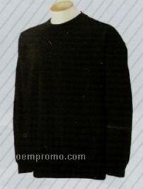 Custom Tackle Twill & Embroidered Crew Neck Sweatshirt