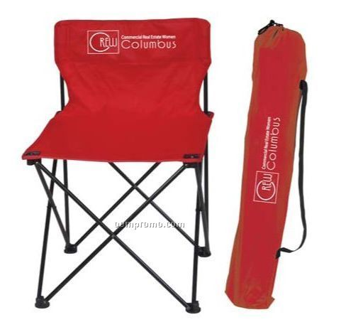 """Deluxe Folding Chair W/ Carrying Case (20""""X20""""X29"""")"""