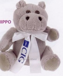 Extra Soft Hippo Stuffed Animal