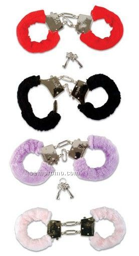 Furry Handcuffs - Assorted Colors