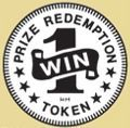 Stock Win One Prize Redemption Token (1.125 Zinc Size)