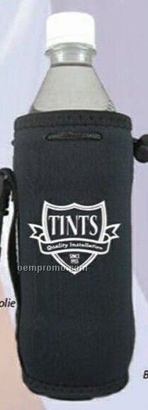 Neoprene Favorites Drawstring Coolie Bottle Beverage Insulator