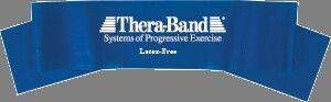 Thera-band 5' Latex Free Exercise Band, Extra Heavy