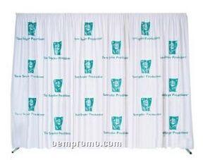 Backdrop Set 30'x8' Multivision Twill (1-color/Screen Print)-9 Panel