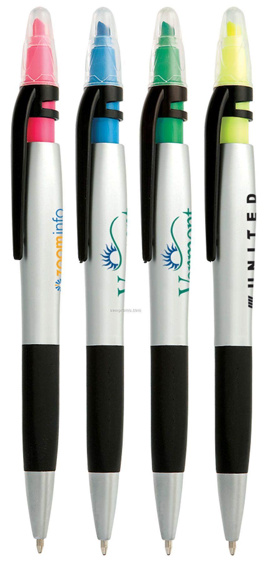 Duet Highlighter Pen - Closeout