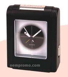 Rectangle Shape Table Clock