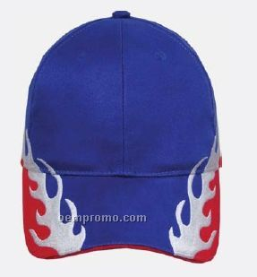 The Grand Prix Flame Cap (Blank)