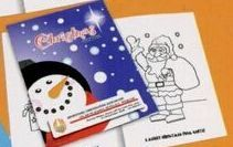 Christmas Coloring Book W/ Stock Cover & Stock Coloring Images