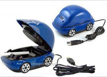 USB Car Shape Ash Trays
